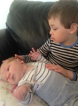 Lukas og bror
