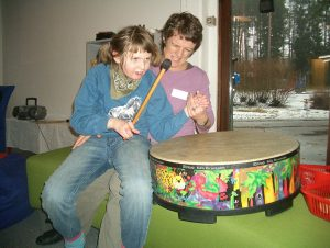 musikk-aktivitet på Frambu