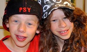 Gutt og jente med Williams' syndrom
