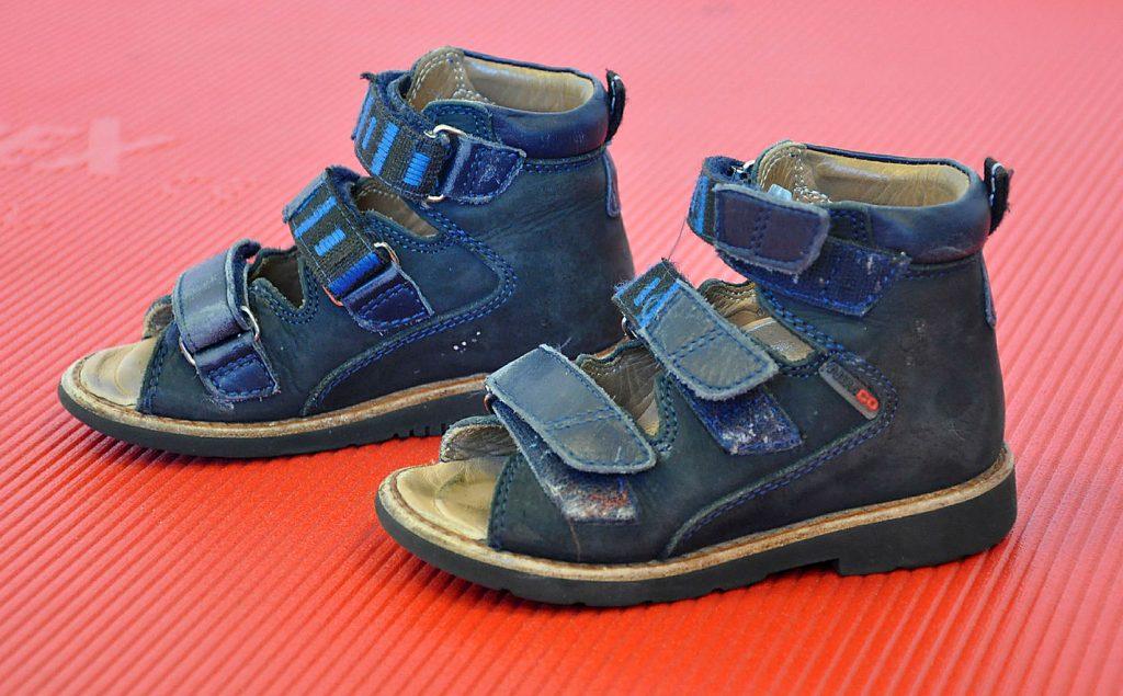 Bilde av et par tilpassede sko