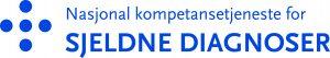 Logoen til Nasjonal kompetansetjeenste for sjeldne diagnoser