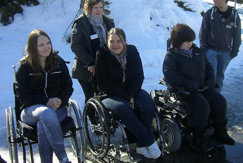 Voksne i rullestol