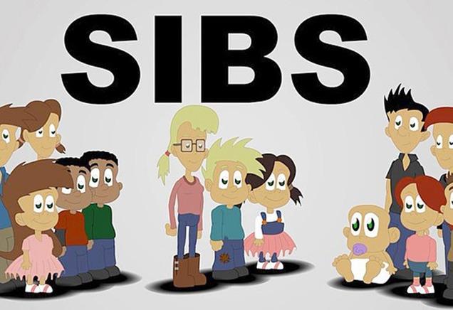 Logoen til søskenintervensjonen SIBS