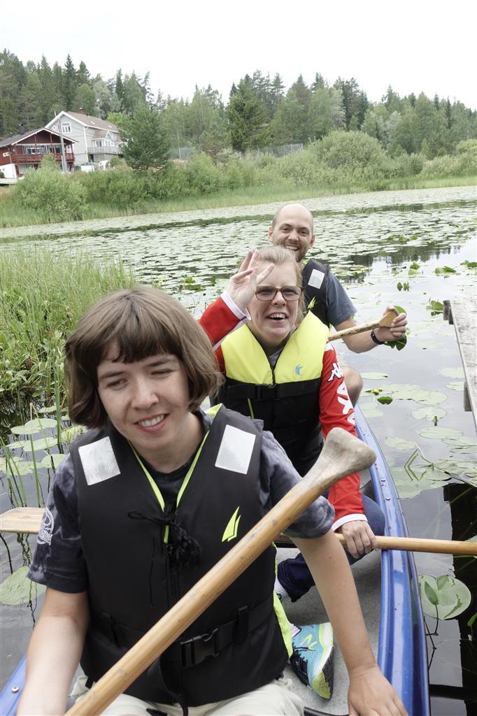 Roing i kano