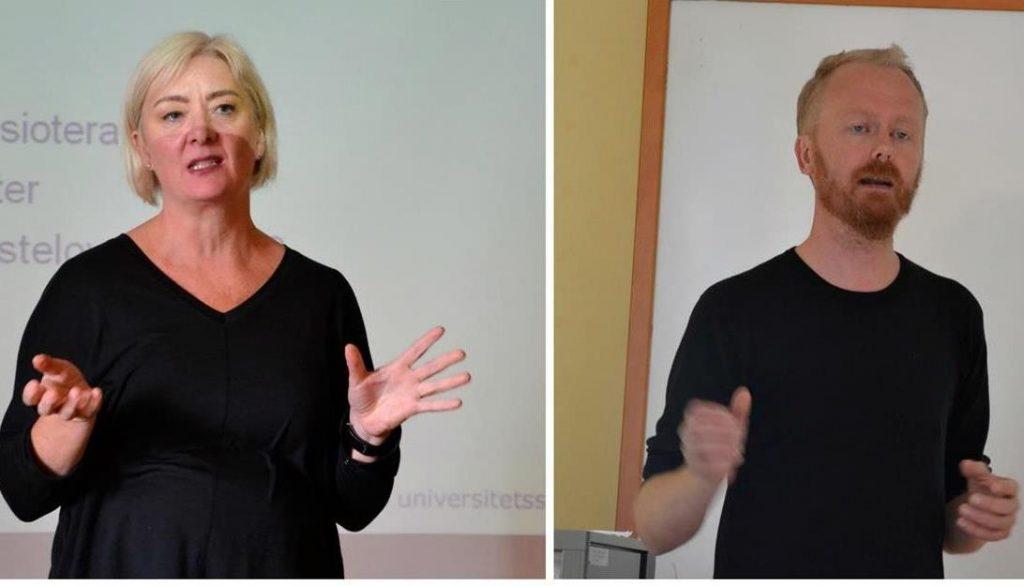 Grethe Kvan Welle og Vidar Antonsen