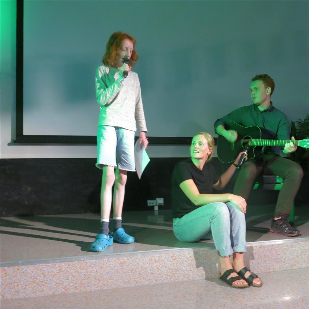 Konsert på scenen
