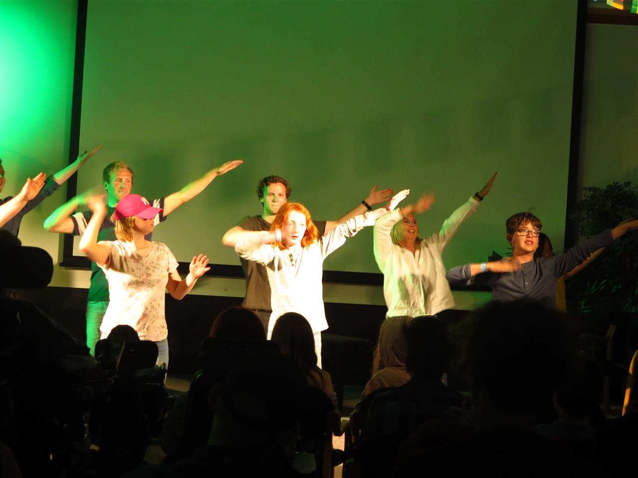 Dansing på scenen