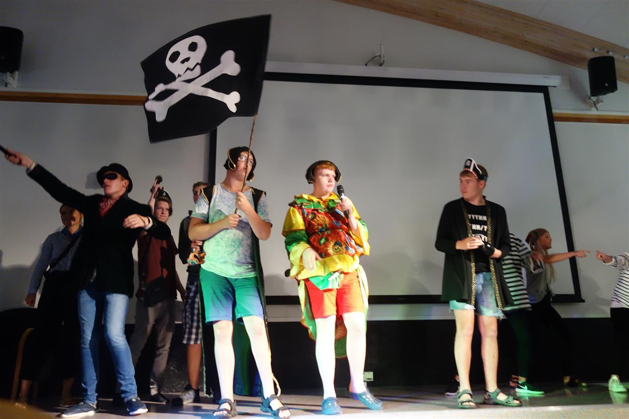 Pirater på scenen