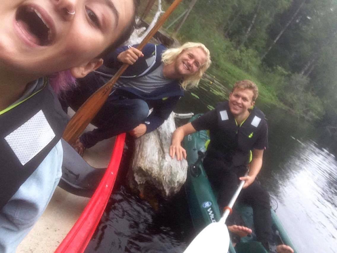 Ut i kano