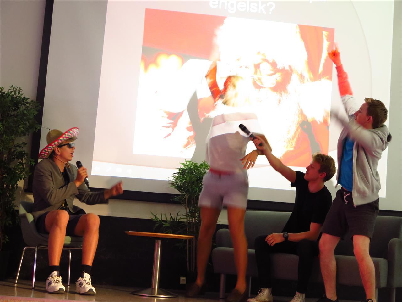 Show på scenen