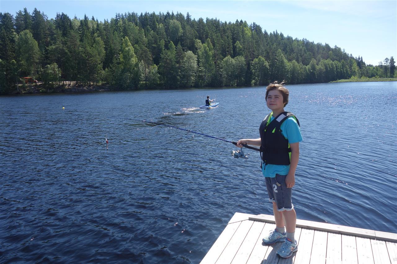 Fisking i tjernet