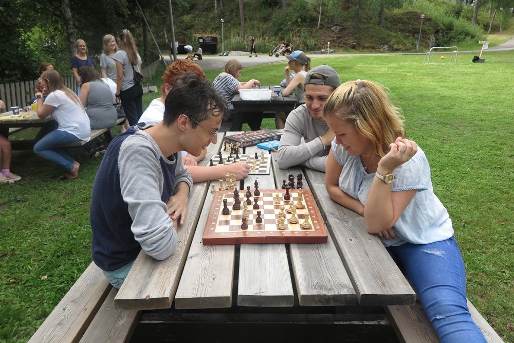 Intens sjakk-match