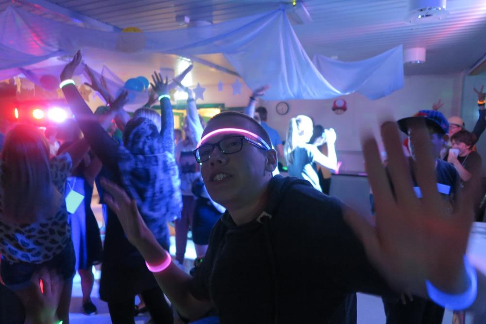 Dansing på fest