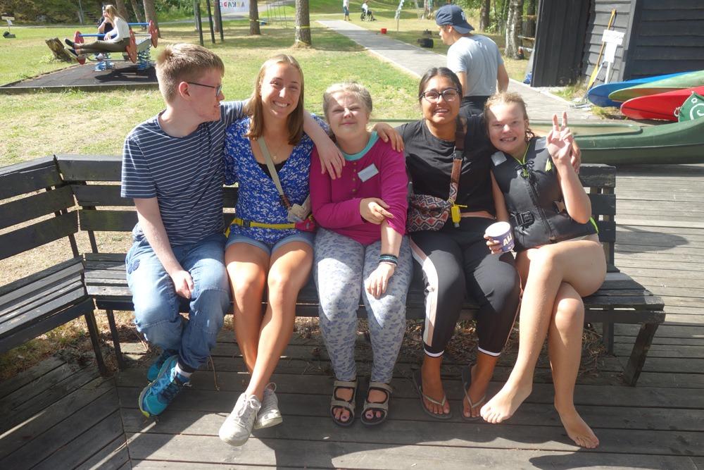 Venner på benken