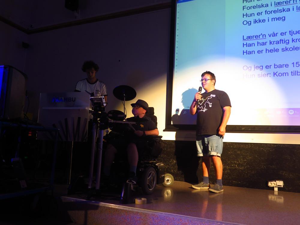 Musikk på scenen