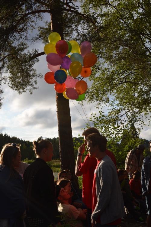Ballonger i treet