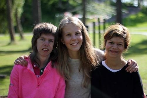 Tre deltakere