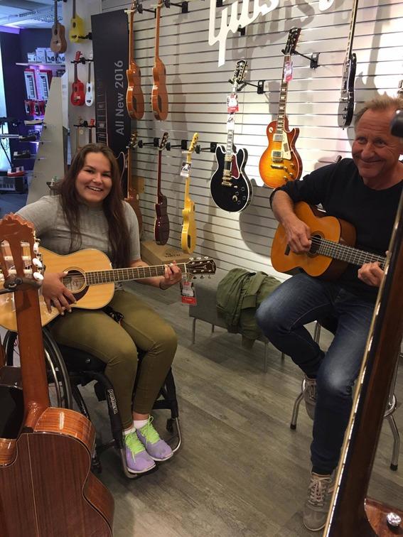Gitarbutikk