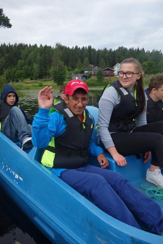Gjeng i tråbåt