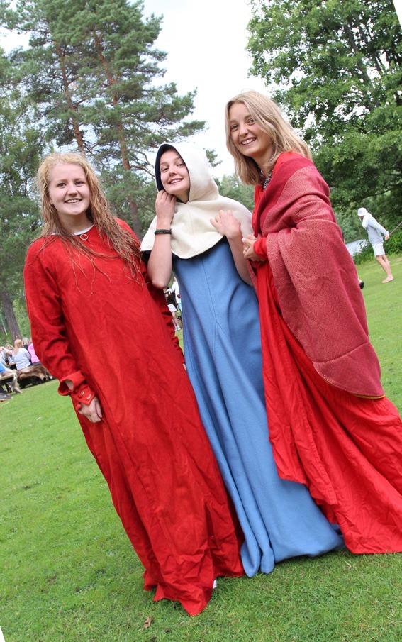 Tre jenter