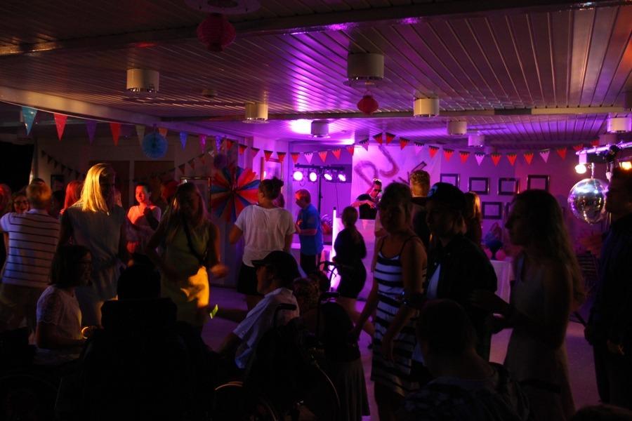 Glow på fest