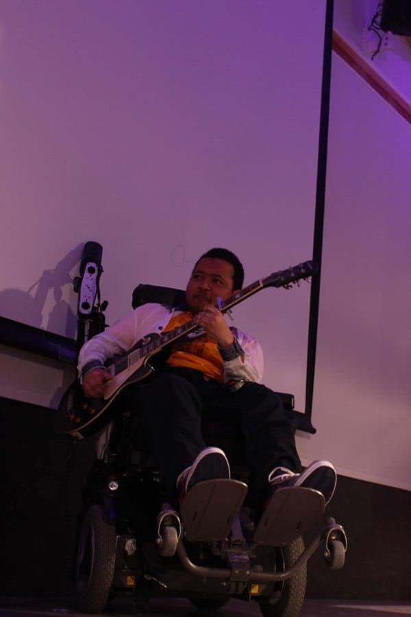 Gitar på scenen
