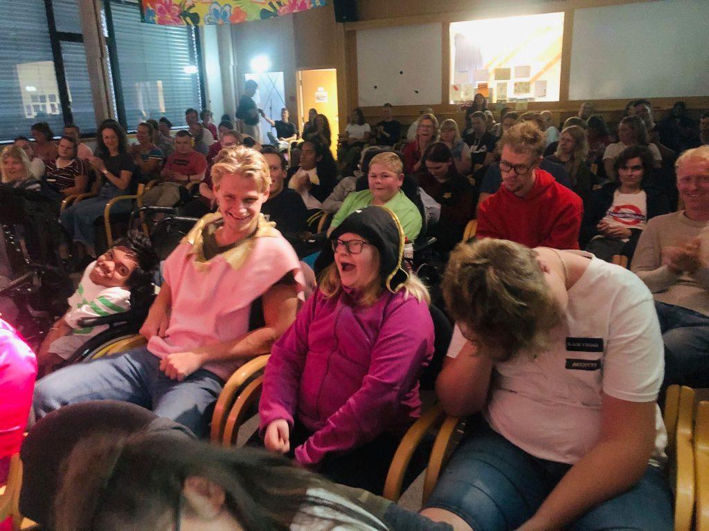 Bilde av et publikum
