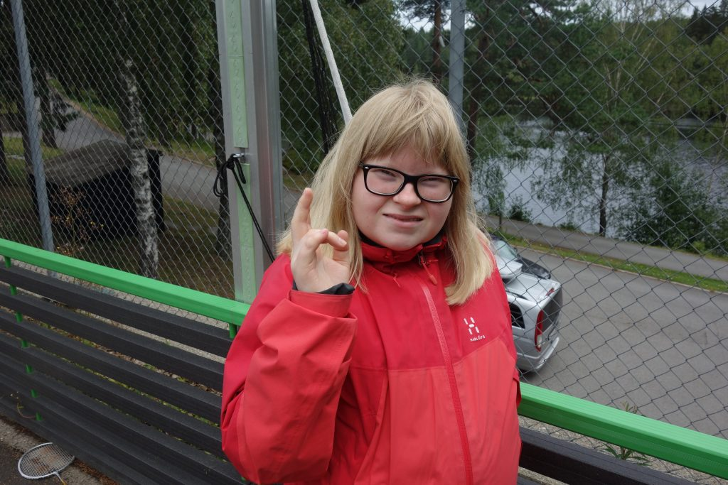 Bilde av en jente
