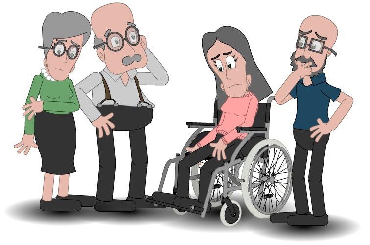 illustrasjon av fire voksne