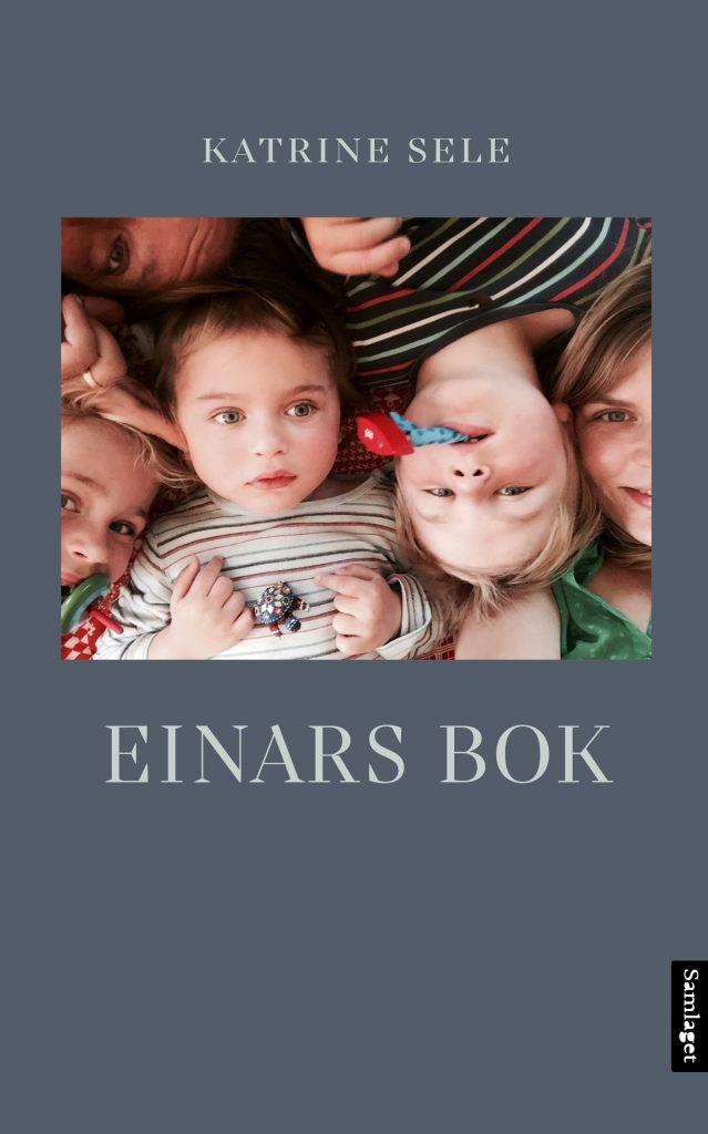 """Bokomslaget til """"Einars bok"""""""